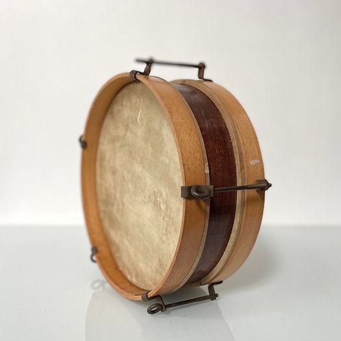 SNARE DRUM - vintage wood percussion instrument