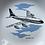 Thumbnail: BOAC BOEING 707 PIN TRAY - vintage wade aeronautica