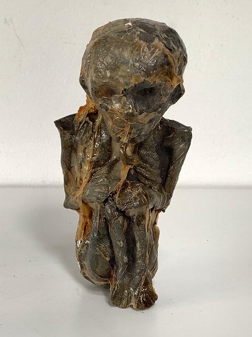 KUMAN THONG -  thai folk art effigy figure