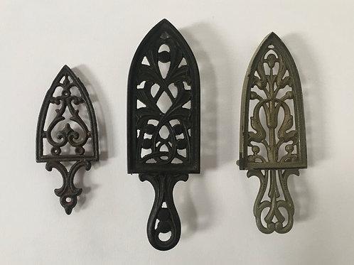 KITCHEN  TRIVETS - vintage gothic kitchenalia