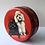 Thumbnail: Vintage Biscuit Tin with Poodles Illustration