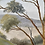 Thumbnail: TREES - vintage painting by Lotan
