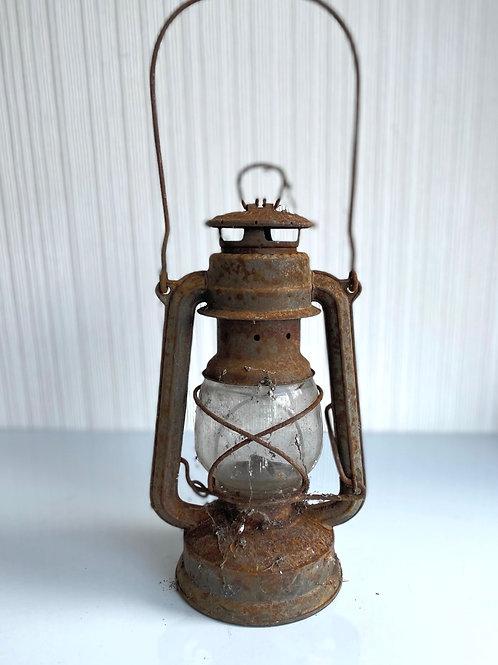 OIL LAMP - vintage decorative prop