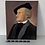 Thumbnail: PORTRAIT PAINTING OF MAN - period costume on board