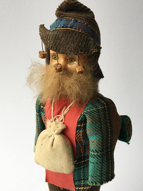 Vintage Australian Jolly Swagman Model Doll