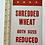 Thumbnail: SHREDDED WHEAT  - vintage shop display card