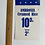 Thumbnail: AMBROSIA CREAMED RICE PUDDING - vintage shop price label
