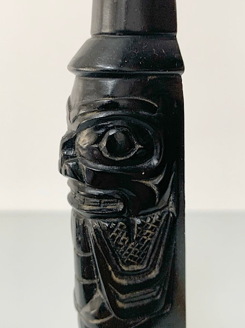 SPIRIT ANIMAL TOTEM POLE - vintage canadian boma figure