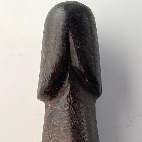 PALAD KHIK AMULET  - vintage thai hand carved phallic charm