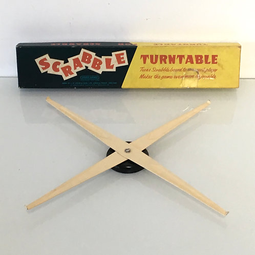 Vintage SCRABBLE Game Turntable