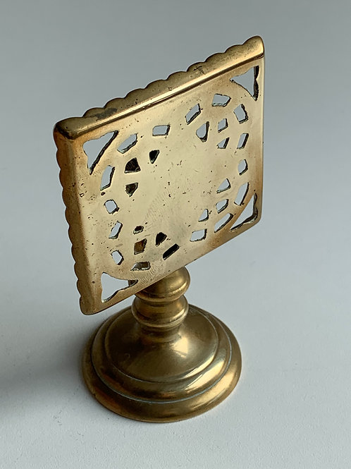 Vintage Brass Candle Reflector