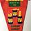 Thumbnail: Vintage 1960s Camping Club Great Britain Pennant Flag SIXPENNY HANDLEY Dorset DA