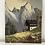Thumbnail: MOUNTAINS - vintage oil painting alpine scene