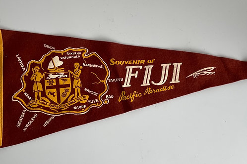 FIJI PENNANT - vintage souvenir
