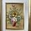 Thumbnail: FLOWERS - vintage oil painting