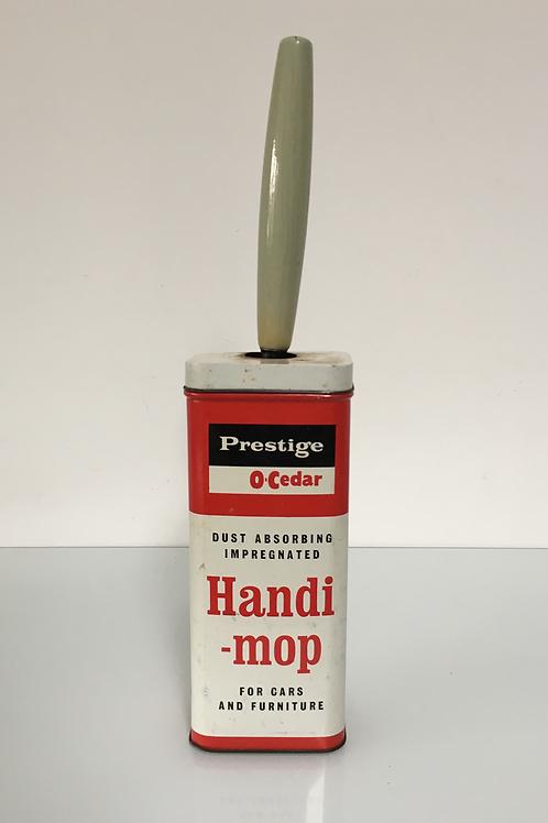 Vintage Prestige Handimop Car Furniture Polish Mop Brush Advertising Automobilia