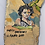 Thumbnail: HAPPY BIRTHDAY GRANDAD - vintage outsider art painting on slate -