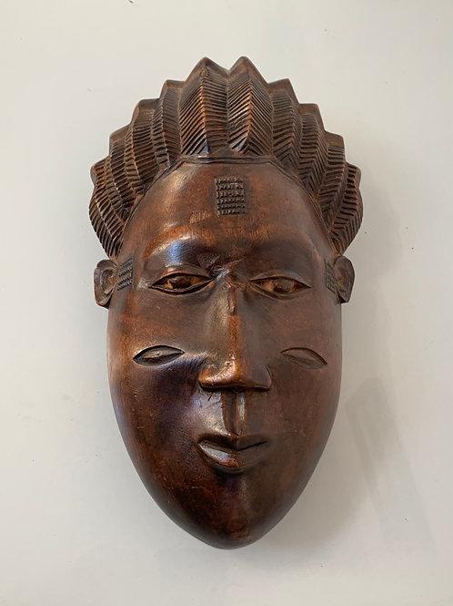 TRIBAL FACE MASK - Old Vintage African Decoratove -  Folk Art