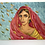 Thumbnail: INDIAN LADY IN SARI - vintage 1960s painting signed