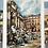 Thumbnail: ROMA - vintage aquarelle postcards
