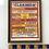 Thumbnail: VARIETY SHOW BILL - vintage 1950s framed show bill advert