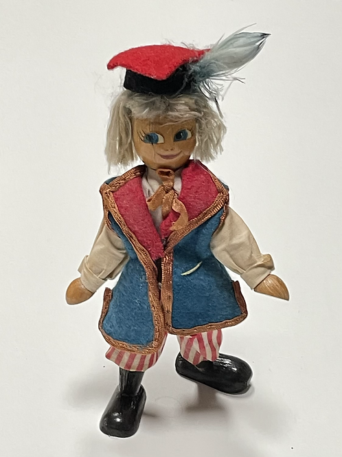 PEG DOLL - vintage period costume character