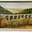 Thumbnail: AQUEDUCT painting  - original vintage landscape by ve denner