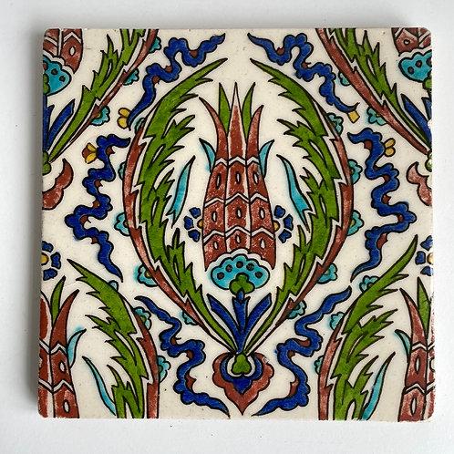 DECORATIVE TILE - vintage ceramic