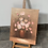 Thumbnail: STILL LIFE WITH FLOWERS - vintage original oil painting