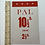 Thumbnail: PAL DOG FOOD - vintage shop display card