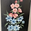 Thumbnail: FLOWERS by p daniel - vintage painting on wood panel