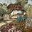 Thumbnail: FLOWER GARDEN - oil painting on board
