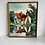 Thumbnail: 70s ART - vintage original oil painting signed