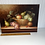 Thumbnail: STILL LIFE WITH FRUIT - vintage painting on board