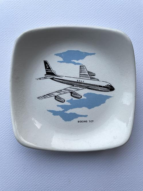 BOAC BOEING 707 PIN TRAY - vintage wade aeronautica