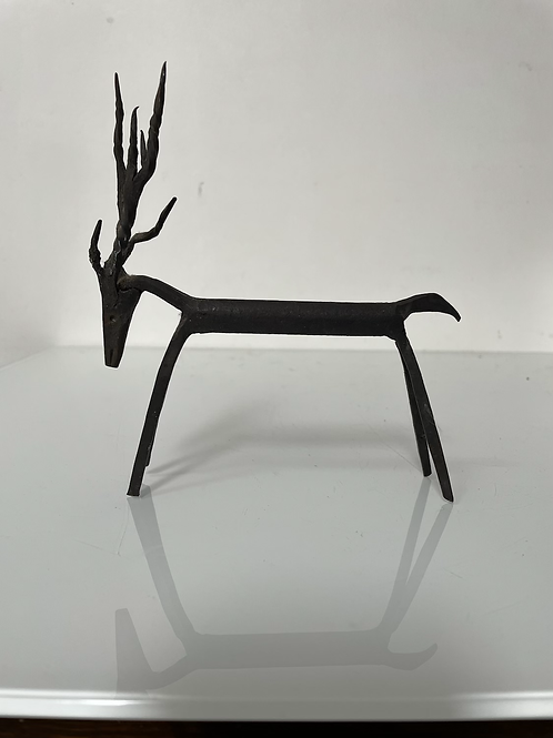 DEER - wrought iron animal figure