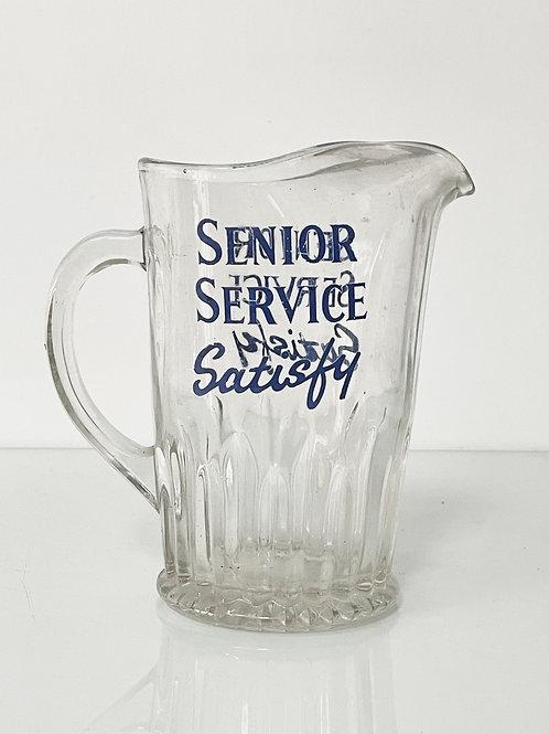 pub water jug - senior service cigarettes
