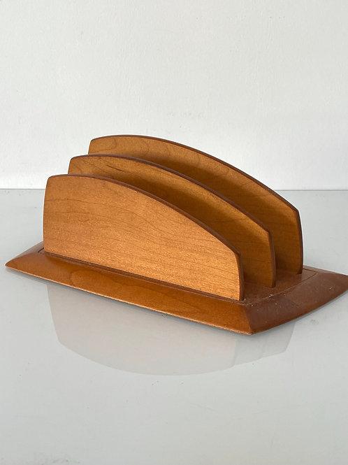 LETTER RACK - vintage mid century modernist