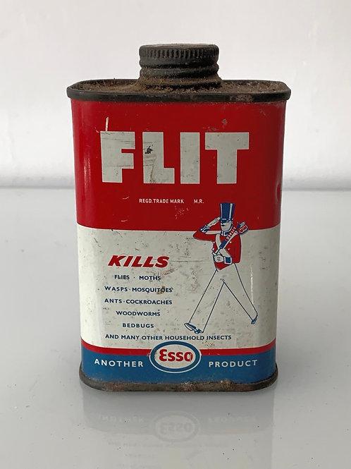 ESSO FLIT FLY MOTH KILLER - vintage tin can