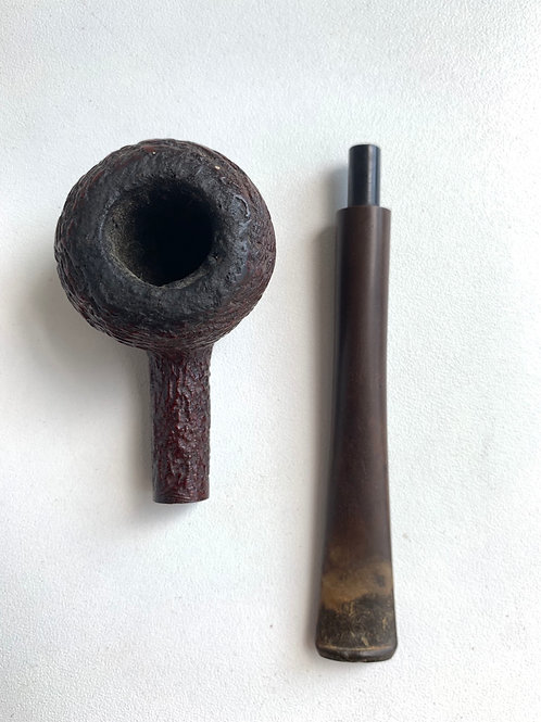 Vintage Wooden Briar Smokers Pipe Made By Duncan in England