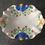 Thumbnail: Vintage Hand Painted Era Ware Decorative China Bowl Dish