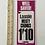 Thumbnail: LASSIE MEATY CHUNKS - vintage 1970s shop price card label