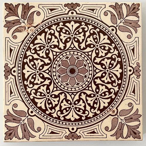 CERAMIC TILE - decorative vintage