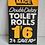 Thumbnail: TOILET ROLLS - vintage shop price label
