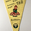 Thumbnail: Vintage 1960s Camping Club of Great Britain Pennant Flag South West ROCKBEARE