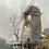 Thumbnail: WINDMILL - vintage watercolour painting