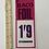 Thumbnail: BACO FOIL - vintage food shop price card