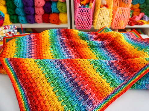 Weeping Rainbows Pattern