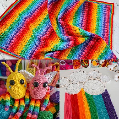 Rainbow Baby Pattern Bundle