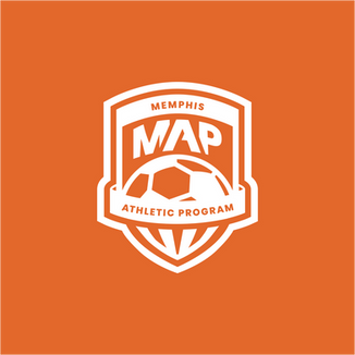 MAP (Memphis Athletic Program) Logo